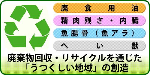 廃棄物回収・リサイクルを通じた、「うつくしい地域」の創造